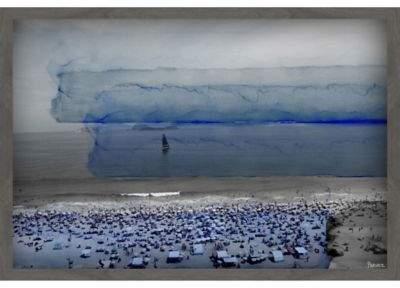 Ipanema 20-Inch x 30-Inch Shadow Box Wall Art