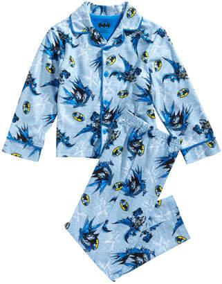 Dc Comics Toddler & Little Boys 2-Pc. Batman Pajama Set