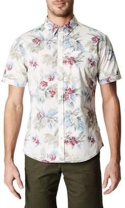 7 Diamonds Island in the Sun Trim Fit Short Sleeve Sport Shirt