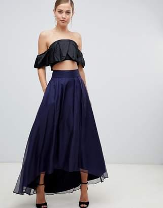 Coast Iridessa high low chiffon skirt