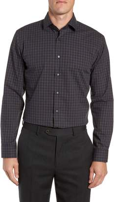 Calibrate Trim Fit Non-Iron Check Dress Shirt