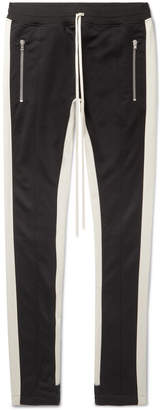 Fear Of God Slim-Fit Tapered Contrast-Trimmed Jersey Sweatpants