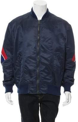 Facetasm Side Striped Bomber Jacket