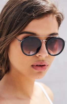La Hearts Top Bar Aviator Sunglasses