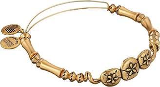 Alex and Ani Coastal Odyssey Sand Dollar Horizontal Expandable Wire Bangle Bracelet