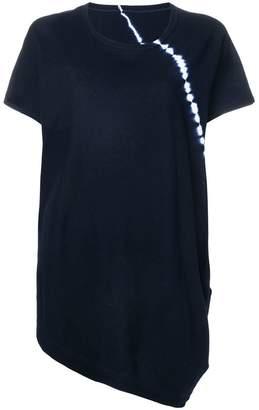 Y's asymmetric hem T-shirt