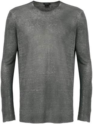Avant Toi sheer longsleeved T-shirt