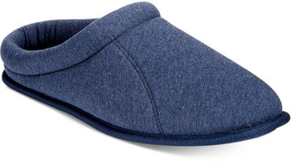 Club Room Men's Jersey Clog Slippers, Only at Macy's $28 thestylecure.com