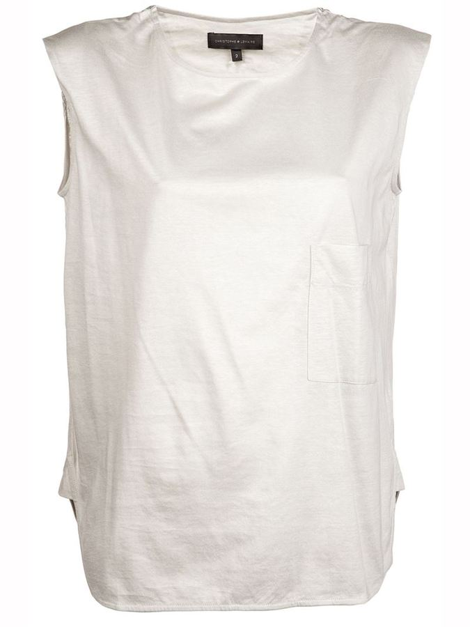 Christophe Lemaire Relaxed muscle t-shirt