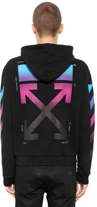 Off-White Gradient Arrows Zip-Up Sweatshirt Hoodie