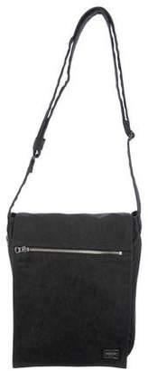 Co Porter-Yoshida & Canvas Flap Messenger Bag