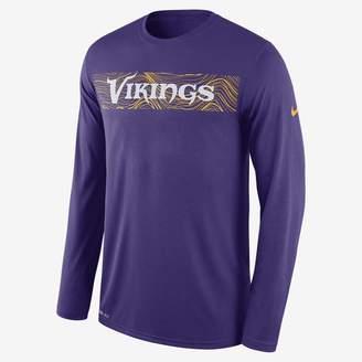 Nike Dri-FIT Legend Seismic (NFL Vikings) Men's Long Sleeve T-Shirt