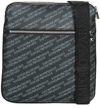 Emporio Armani men's cross-body messenger shoulder bag