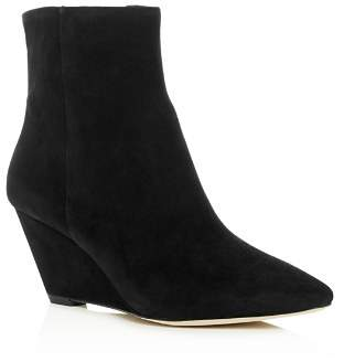 Donald J Pliner Women's Jae Suede Wedge Booties