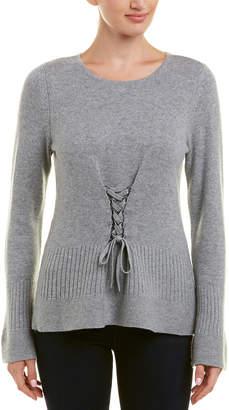 Design History Peplum Cashmere Sweater