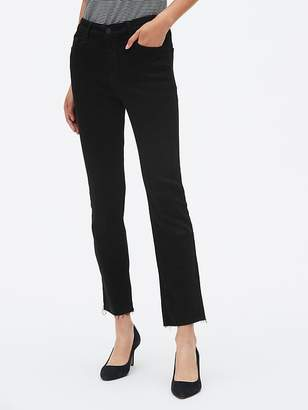 Gap Mid Rise Crop Kick Jeans