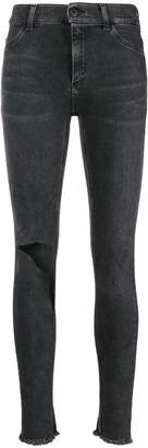 Dondup ripped knee skinny jeans