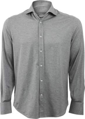 Brunello Cucinelli Jersey Collar Shirt