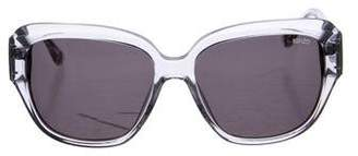 Kenzo Tinted Square Sunglasses