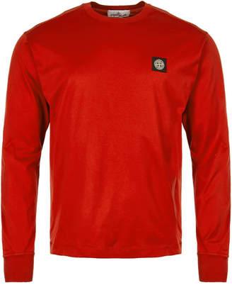 Stone Island Long Sleeve T-Shirt - Red