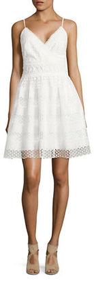Guess Sleeveless Crochet Dress $138 thestylecure.com