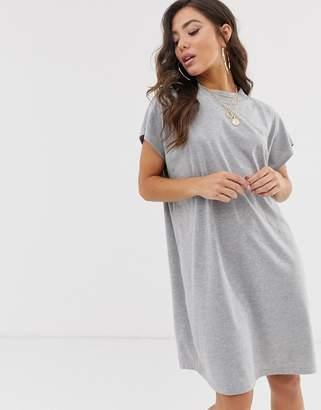 Asos Design DESIGN grown on sleeve t-shirt dress