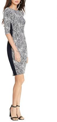 Lauren Ralph Lauren Tribal Chevron Print Dress $139 thestylecure.com