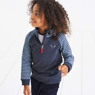 The White Company Half Zip Jingles Sweatshirt (1-6yrs)