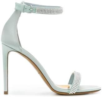 Alexandre Vauthier rhinestone embellished sandals
