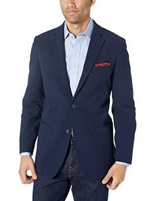 Ben Sherman Men's Solid Seersucker Sport Coat