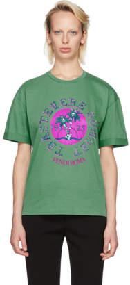 Fendi Blue Sequinned Trastevere Sunset T-Shirt