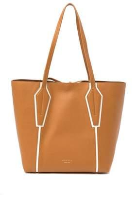 Aquatalia Summer Pebbled Grain Leather Tote Bag