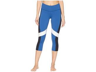 Reebok Lux 3/4 Tights - Color Block Women's Casual Pants