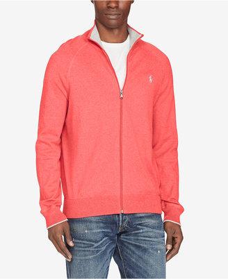 Polo Ralph Lauren Men's Full-Zip Sweater $115 thestylecure.com