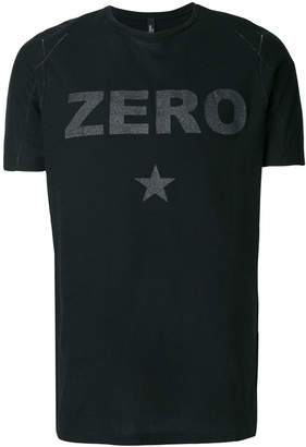 Tom Rebl Zero slogan T-shirt