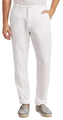Saks Fifth Avenue COLLECTION Drawstring Linen Pants