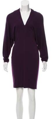 Lanvin Wool Knee-Length Dress