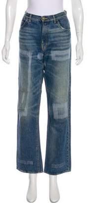 Golden Goose Mid-Rise Straight-Leg Jeans