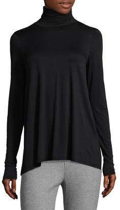 Three Dots Women's Relaxed Turtleneck Sweater