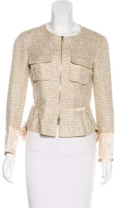 Nina Ricci Embellished Tweed Jacket