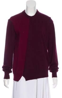 Celine Wool-Blend Colorblock Sweater