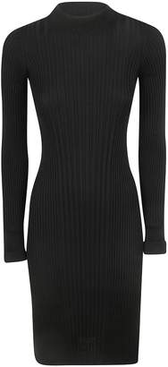 Maison Margiela Fitted Ribbed Dress