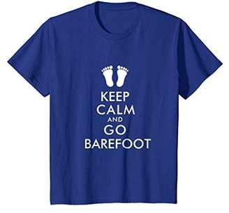 Keep Calm Go Barefoot Shirt