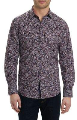 Robert Graham Regular-Fit Paisley Button-Down Shirt