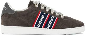 DSQUARED2 logo stripe sneakers