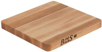 "John Boos & Co. Maple Edge-Grain Chop-N-Slice Cutting Board, 10"" x 10"" x 1"""
