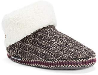Muk Luks Women's Melinda Slippers-Brown