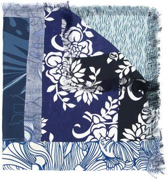 Pierre Louis Mascia Pierre-Louis Mascia multi-pattern scarf