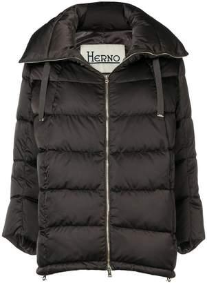 Herno cropped sleeve jacket