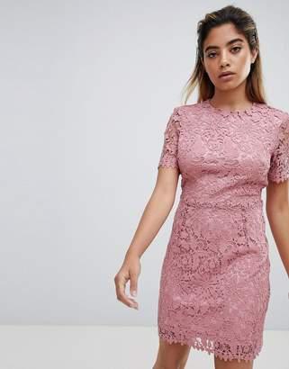 Fashion Union Mini Dress In Delicate Lace